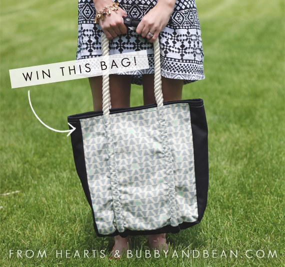 Win a Fair Trade Tote from Bubby & Bean and Hearts.com