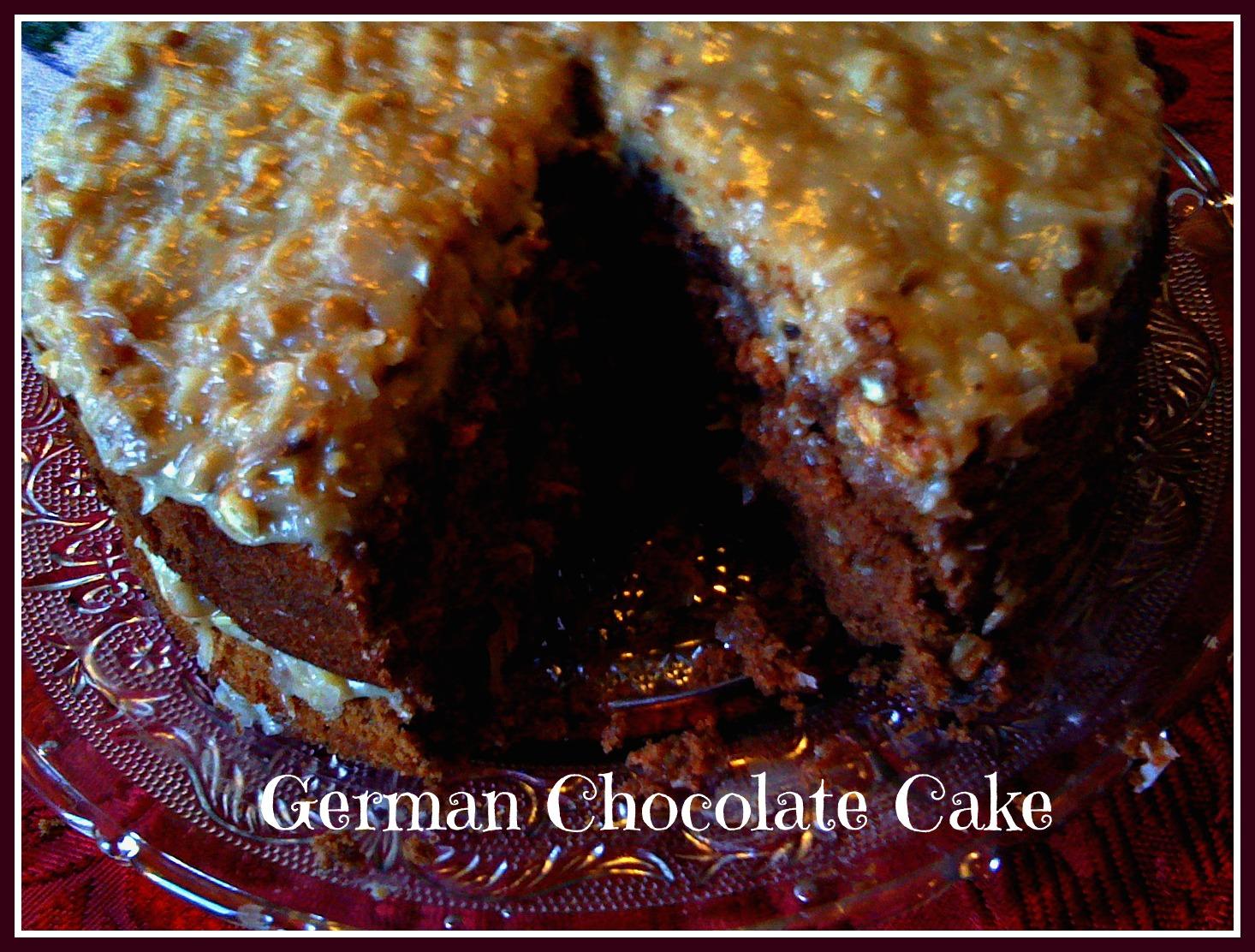 Sweet Tea and Cornbread: German Chocolate Cake!