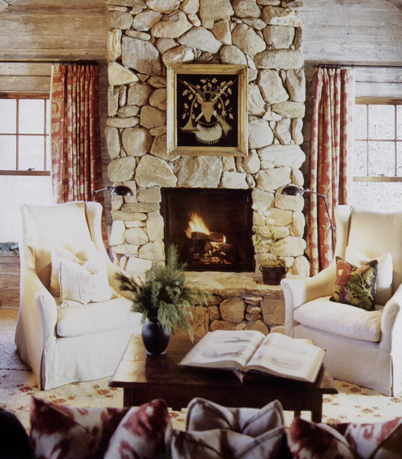 BOISERIE & C.: Il fascino dell'inverno in casa: un camino