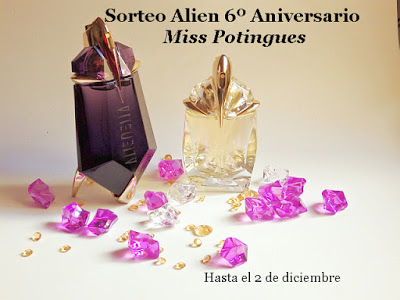 "SORTEO EN EL BLOG ""MISS POTINGUES"""