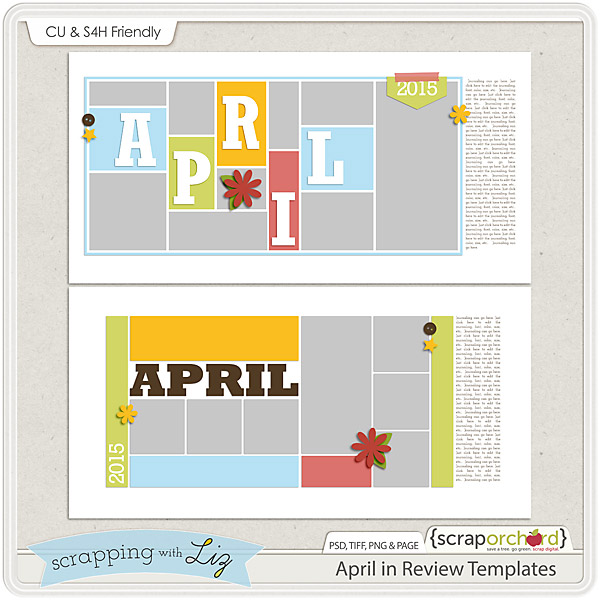 http://scraporchard.com/market/April-in-Review-Digital-Scrapbook-Templates.html