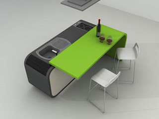 Small Folding Kitchen Design