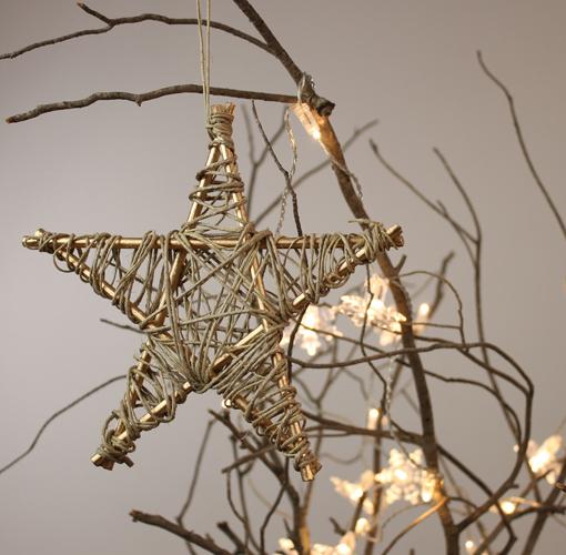 Marzua diy estrella de navidad para colocar en el rbol - Estrella para arbol de navidad ...