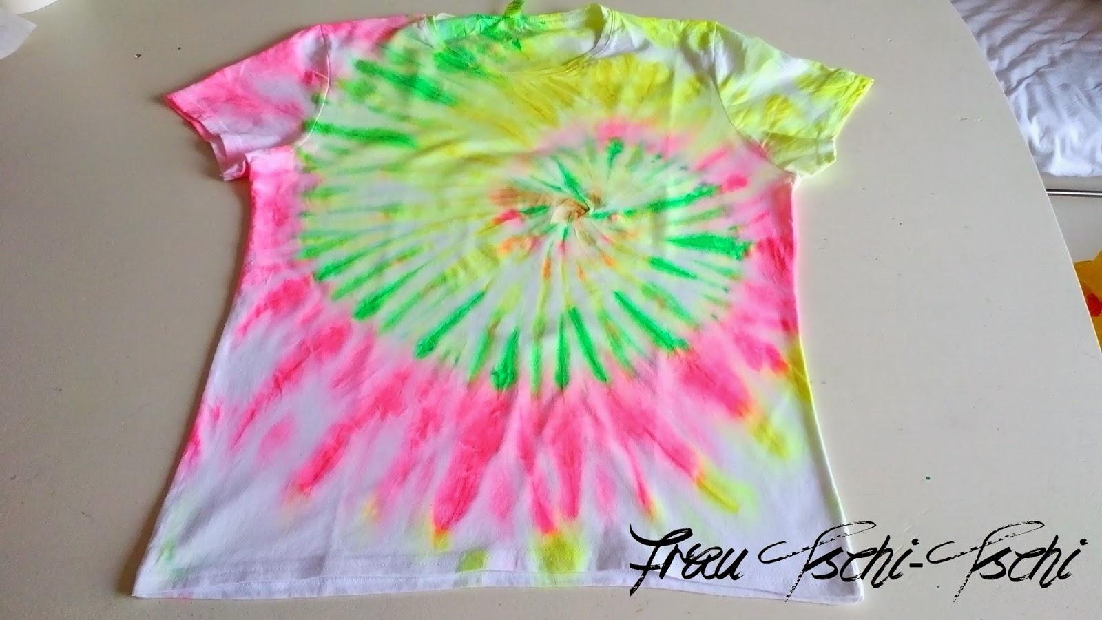 DIY Neon T Shirt (3)   BATIK