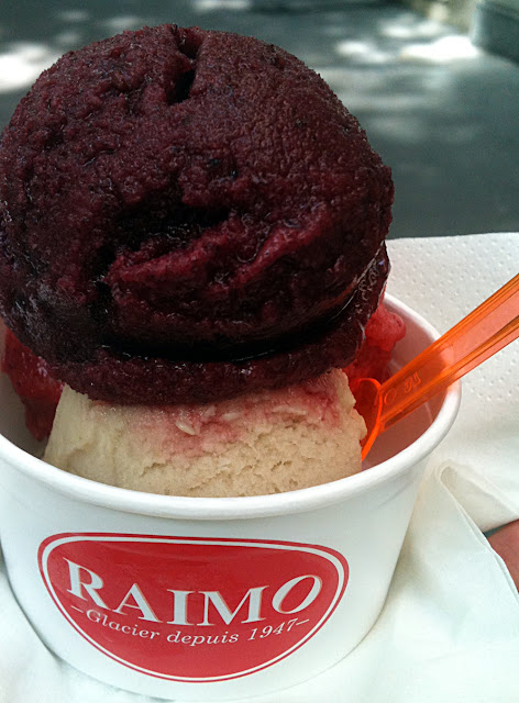 Les glaces et sorbets Raimo - Paris