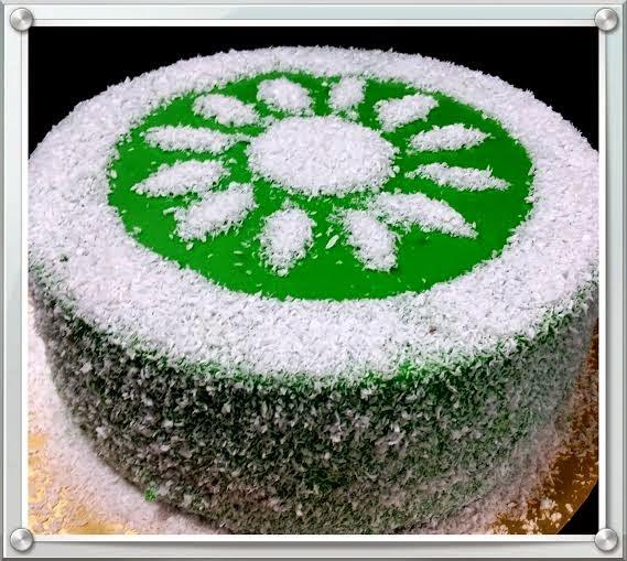 Kelas DIY Layer Pandan Cake RM180