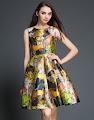Sweet Lady Fashion Brand Flare Swing Dresses