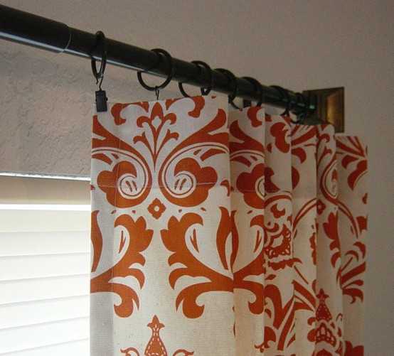 Making it too perfect - Curtains with orange walls ...