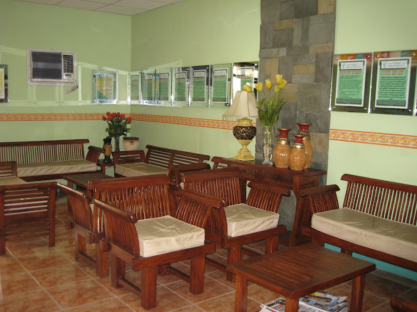 Calamba Clinic Reception Area
