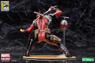 "San Diego Comic-Con 2015 Exclusive Marvel ""Chimichanga"" Deadpool ARTFX+ Statue by Kotobukiya"
