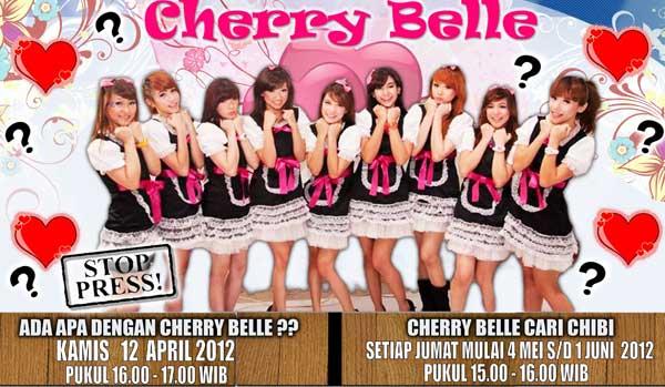 ... Cherry Belle, kini pihak management dan label Cherry Belle, siap cari