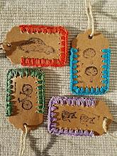 Etiquetas a crochet
