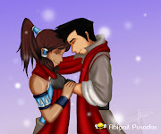 For today i made Korra and Mako, from the avatar's legend of Korra.