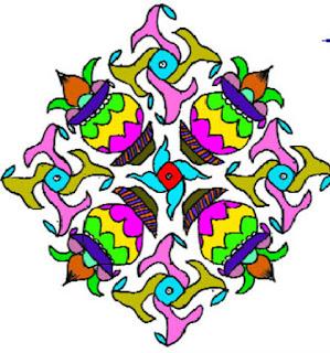 telugu muggulu design pattern