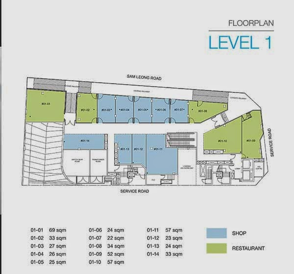 Trio @ Sam Leong Floor Plan