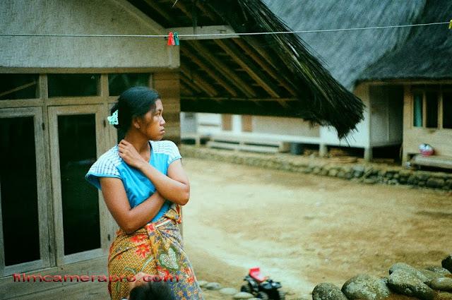Kampung Naga Young Mother