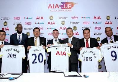 Pilihan Malaysia Vs Tottenham 27 Mei 2015