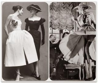 Модели New Look от Christian Dior