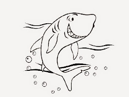 Free Shark Coloring Printables