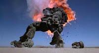 Robot Jox destroyed mech
