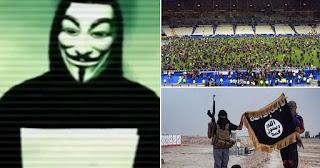 ancama anonymous terhadap isis