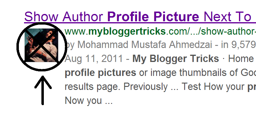No more author profile pictures