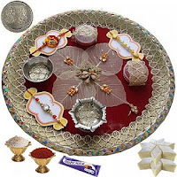 Raksha Bandhan Pooja Thali