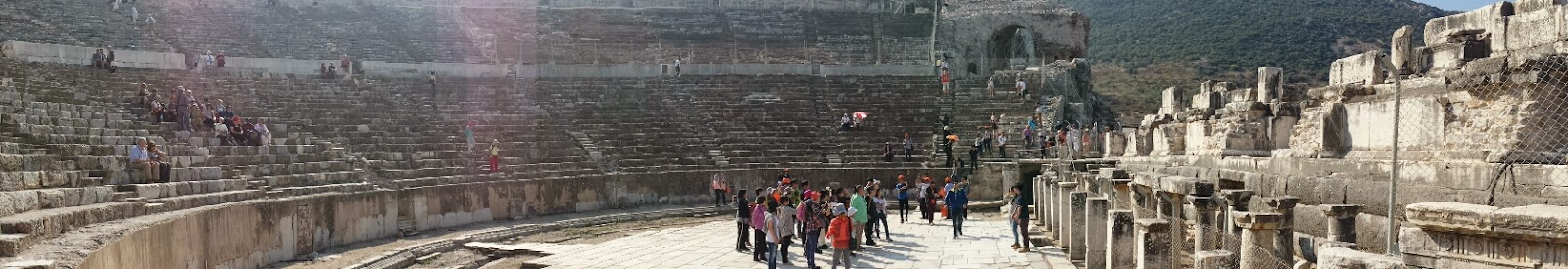 Panorama Great Theatre Efes