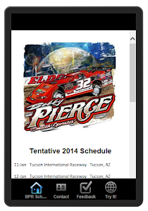 Bobby Pierce Racing App 4 your Smartphone or Tablet!!!