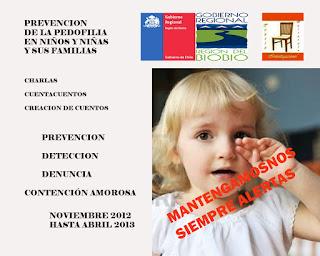 Proyecto Prevención de la Pedofilia en Niños y Niñas y sus familias