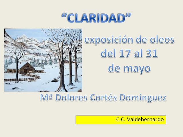 Exposicion CC Valdebernardo 2ª quincena mayo 13