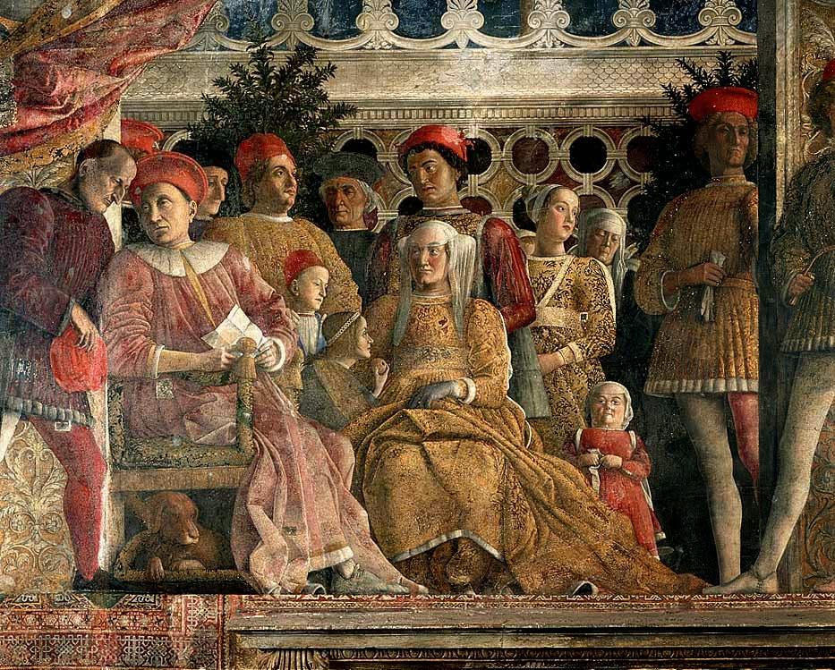 camera degli sposi - Andrea Mantegna