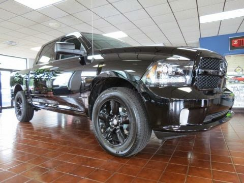 New Ram 1500 Black Express 2013