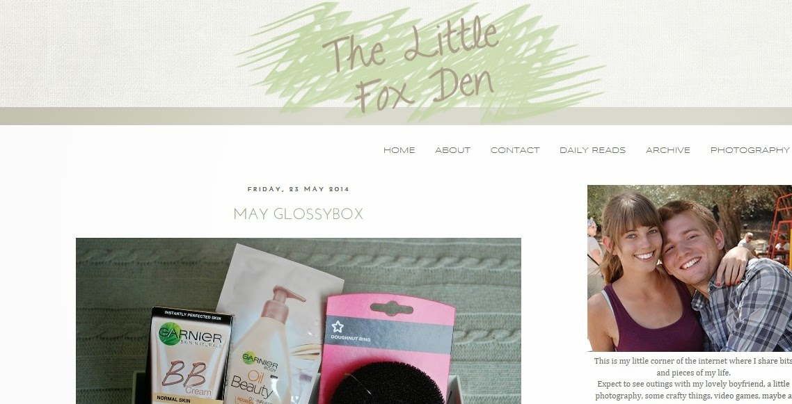 The Little Fox Den Blog