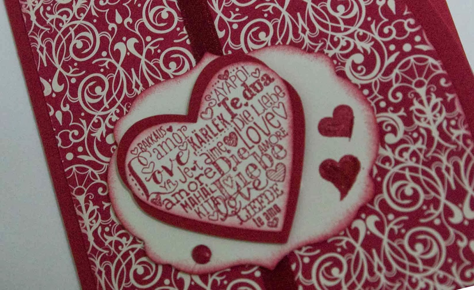 Stampin Up language of love