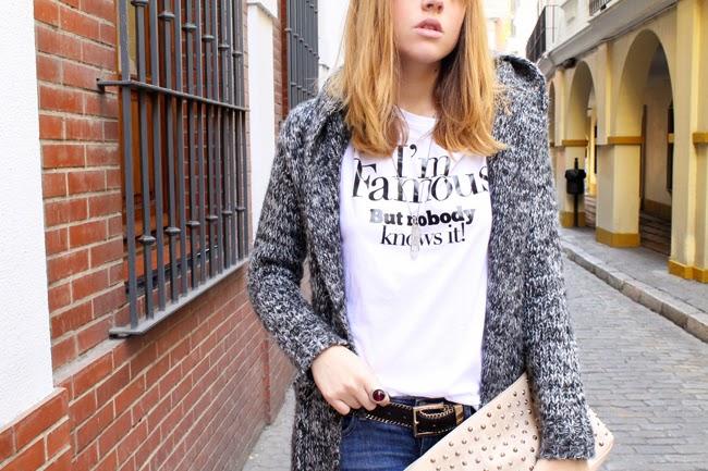 Message tee shirt