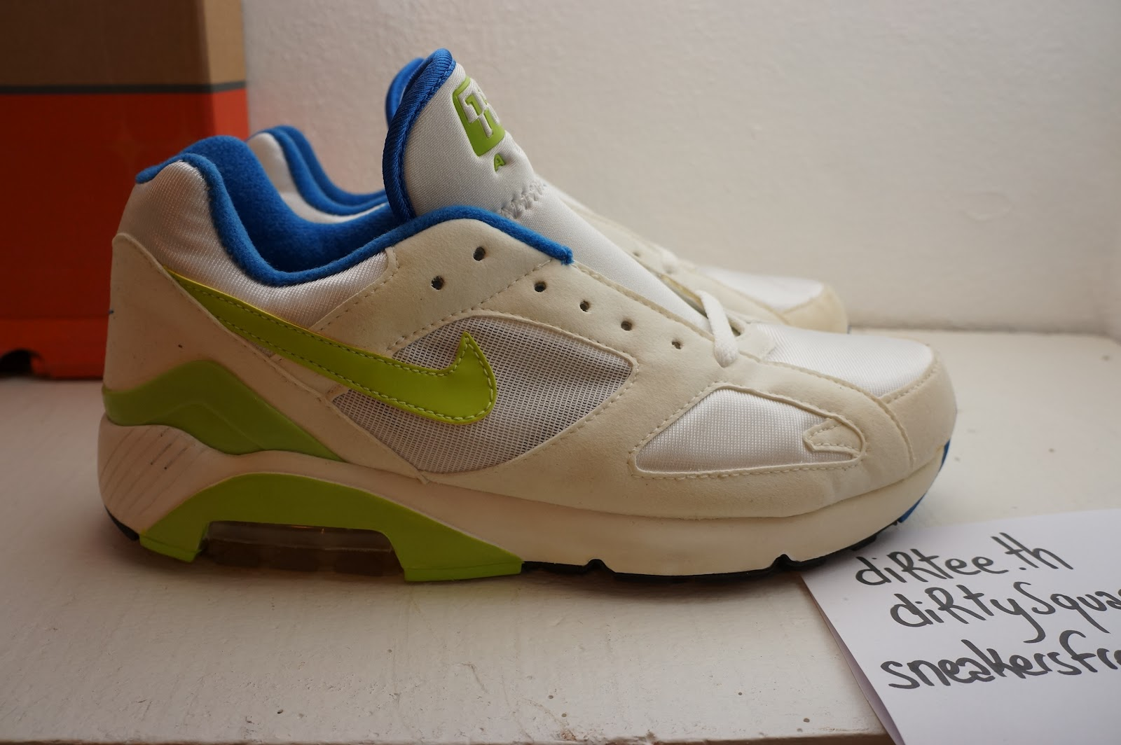 NIKE - WMNS Air Max 180 Classic HISTORY OF AIR - LIME313103-131