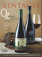 Cover photo of July 21 VINTAGES Wine Magazine