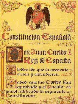 escudo de la constitución de 1978