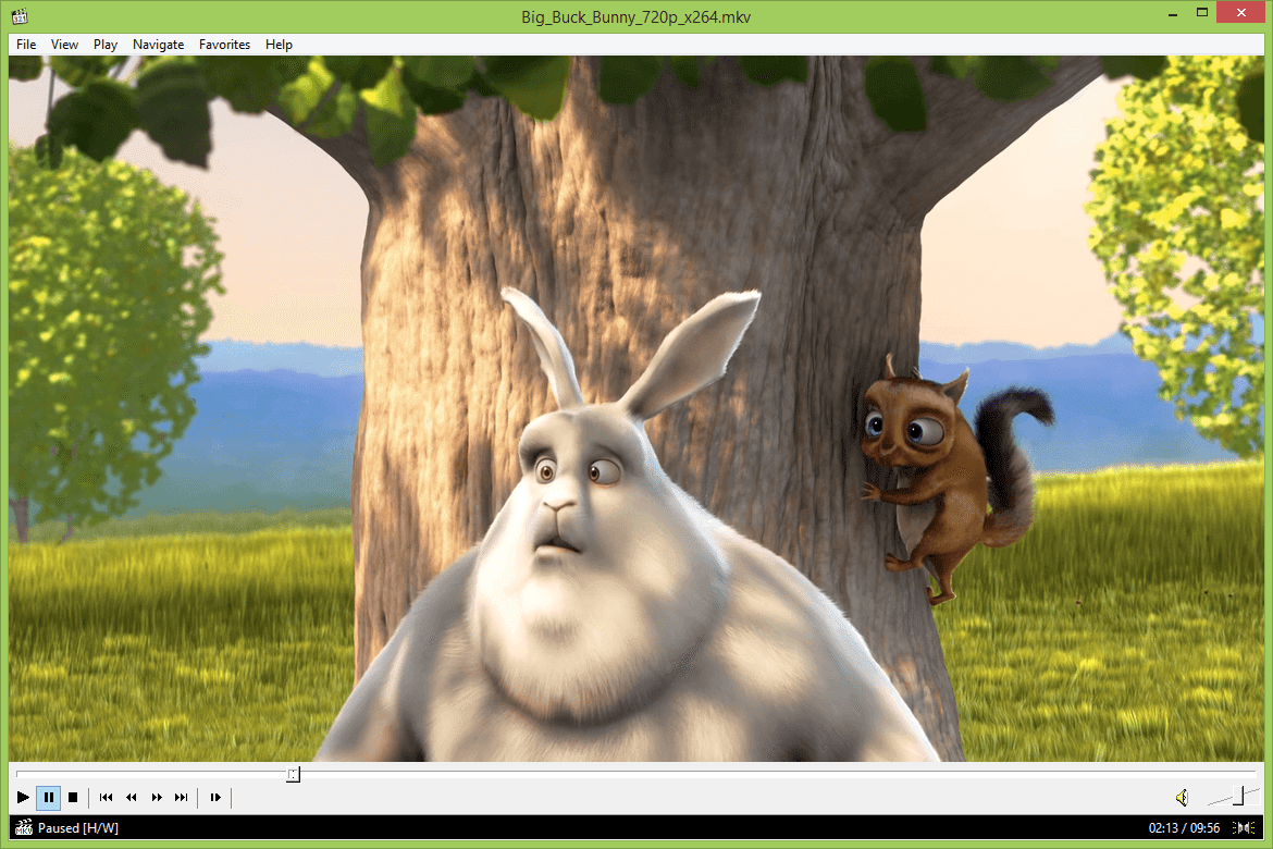 MPC-HC open source media player