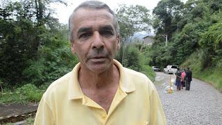 Morador do bairro, Adalberto Serafim enalteceu o empenho dos funcionários da Prefeitura