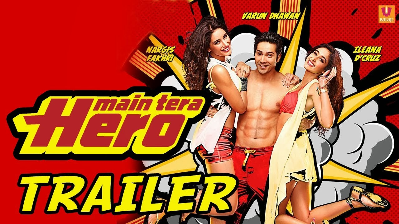 Main Tera Hero (2014) - Official Trailer HD Video Watch Online