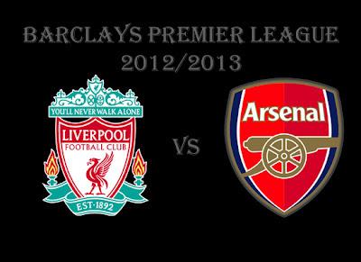 Liverpool vs Arsenal Barlays Premier League 2012
