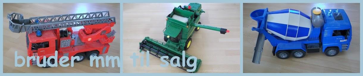 Bruder mm legetøj til salg