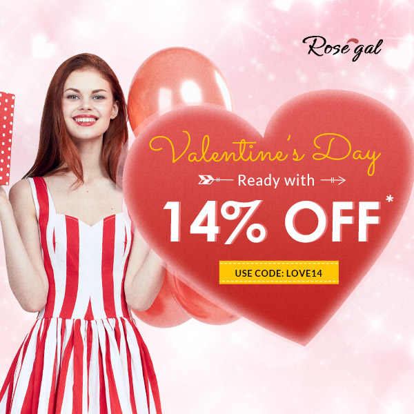 Valentine's Day with Rosegal