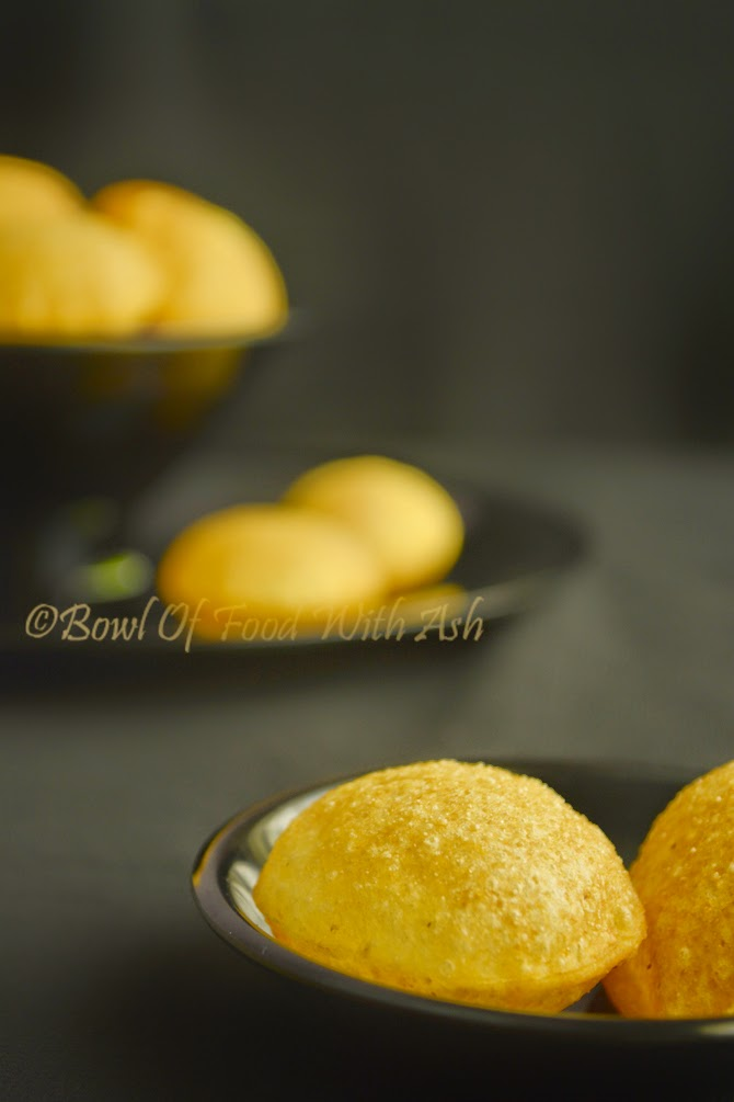 Puri Recipe for Pani Puri/Chaats | How to Make Puri for Pani Puri/Golgappa