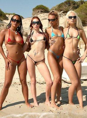 micro bikinis