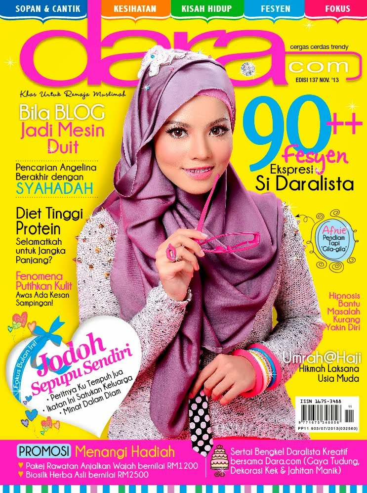 Jom Baca Majalah Dara.com & Like Facebook Dara.com