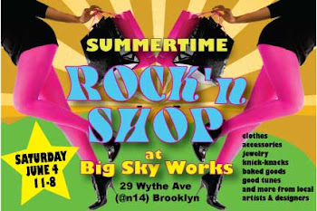 SUMMERTIME ROCK AND SHOP JUNE 4TH!!