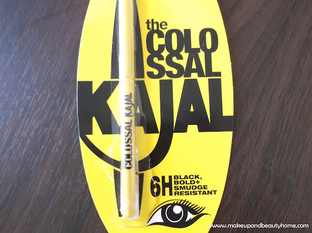 How to Apply Maybelline Colossal Kajal?